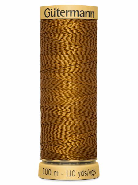 Gutermann Cotton Thread Brown 1444
