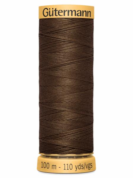 Guttermann Cotton Thread Brown 1523