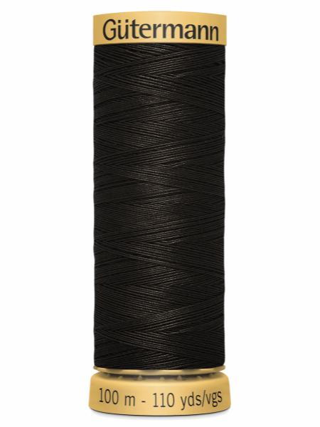 Guttermann Cotton Thread Bitter Chocolate 1712