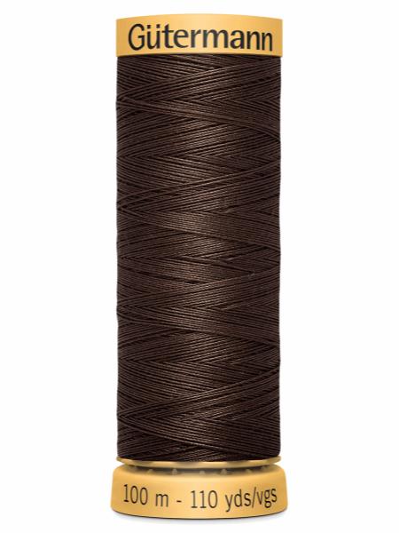 Gutermann Cotton Thread Dark Brown 1912