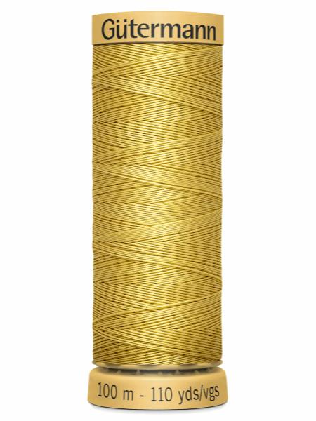 Gutermann Cotton Thread Pale Gold 758