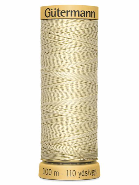 Gutermann Cotton Thread Natural 828