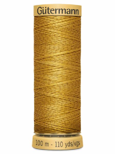 Gutermann Cotton Thread Yellow 847
