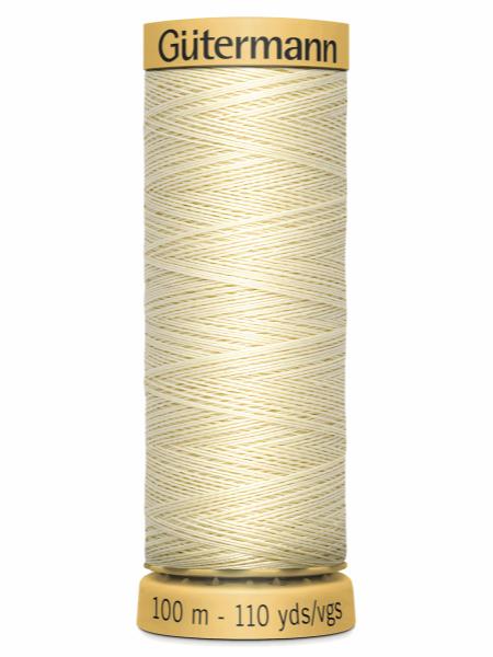 Gutermann Cotton Thread Natural 919
