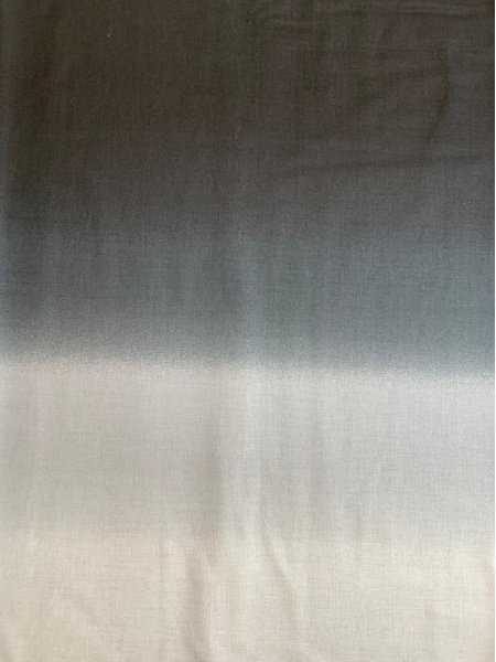 Black Ombre quilting fabric