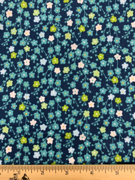 Blosson quilting fabric from Makower