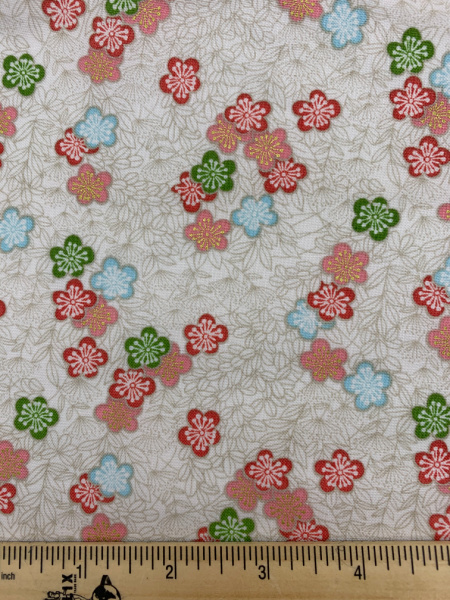 Bushclover quilting fabric from Makower