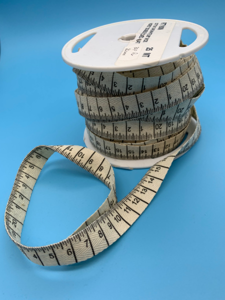 Centimetre Cotton Tape