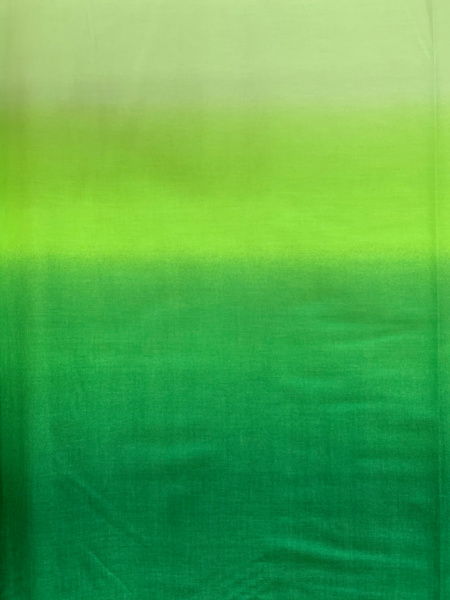 Ombre Green quilting fabric from Kinkame