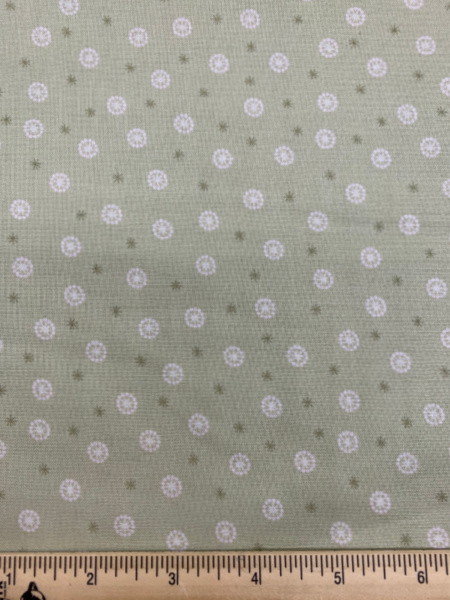 Star seed quilting fabric from Lewis and Irene