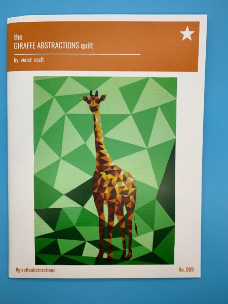 Giraffe Abstractions quilt pattern
