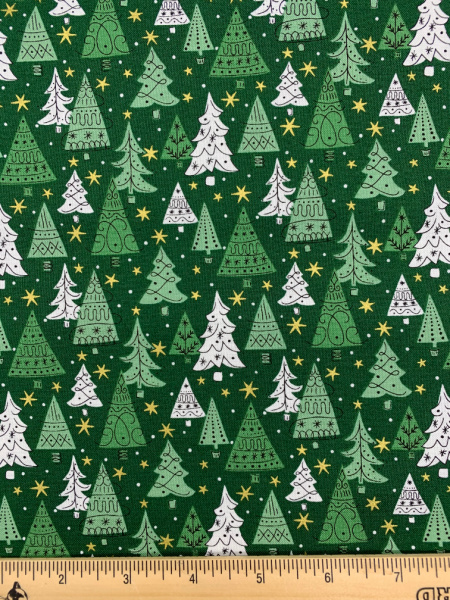 Noel Forest quilting fabric from Liberty