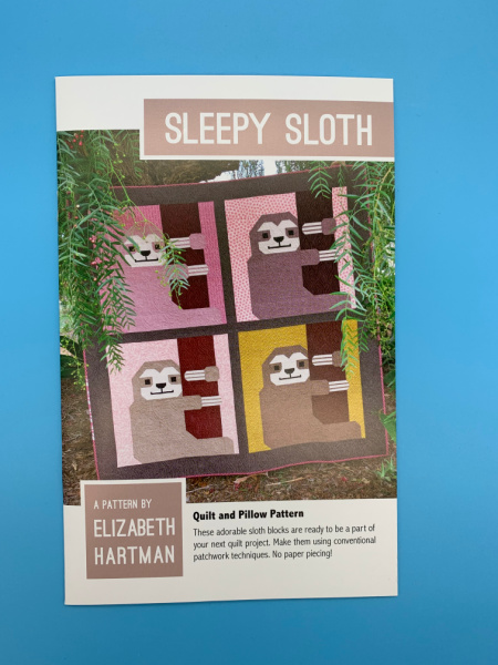 Quilt pattern Sleepy Sloth by Elizabeth Hartman