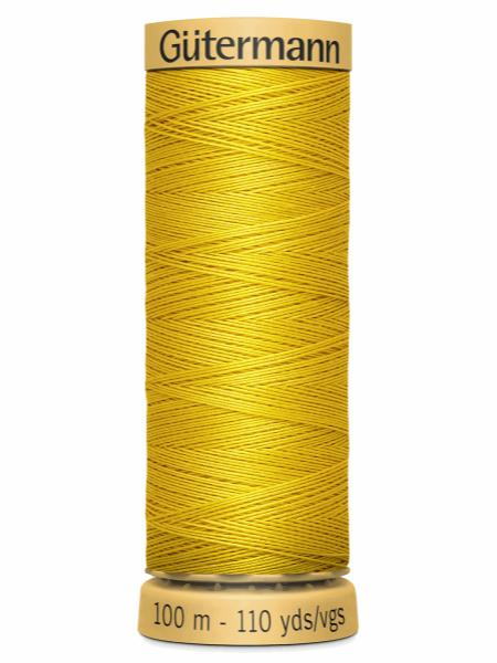 Gutermann Cotton Thread Pale Yellow 688
