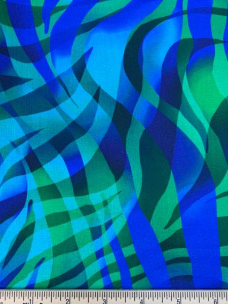 Zebra Skins Extra wide Quiolt Backing Fabric