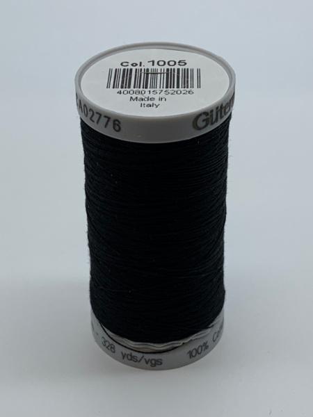 Gutermann Quilting Cotton Thread 1005 Black