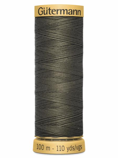 Gutermann Cotton Thread 1114 Grey