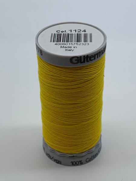 Gutermann Quilting Cotton Thread 1124 Yellow