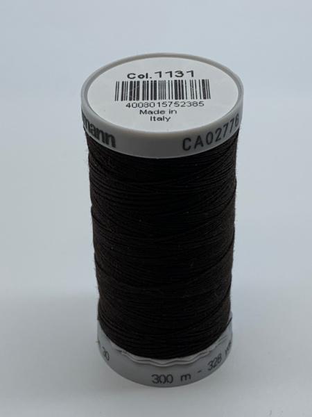 Gutermann Quilting Cotton Thread 1131 Bitter Chocolate