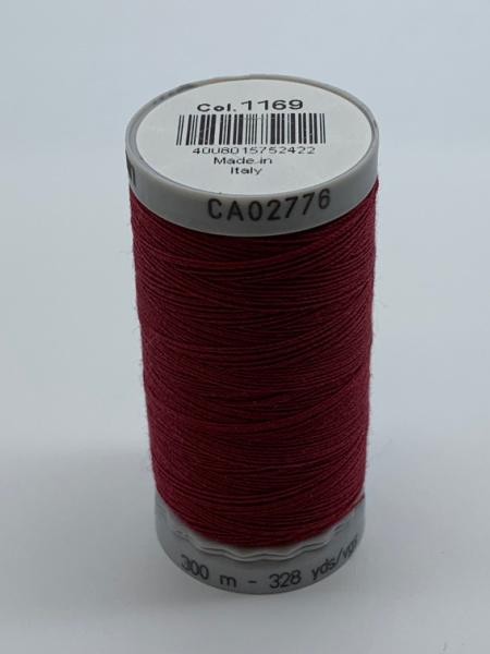 Gutermann Quilting Cotton Thread 1169 Dark Red