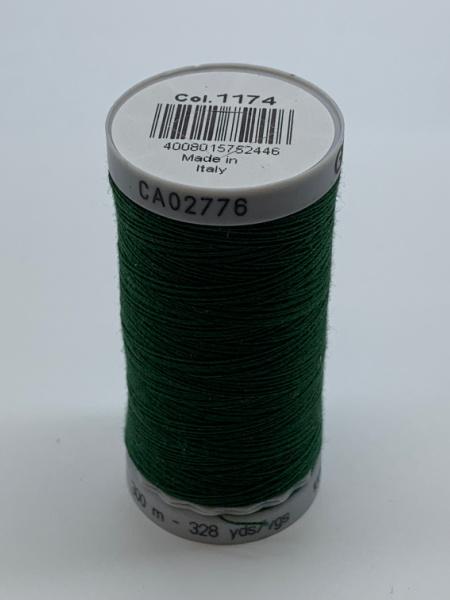 Gutermann Quilting Cotton Thread 1174 Dark Green