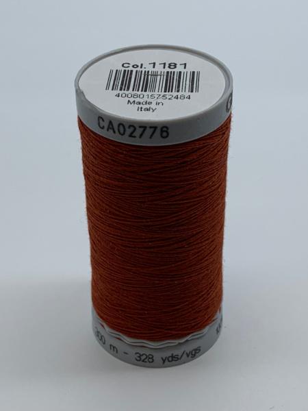 Gutermann Quilting Cotton Thread 1181 Rust