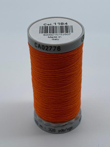 Gutermann Quilting Cotton Thread 1184 Bright Orange