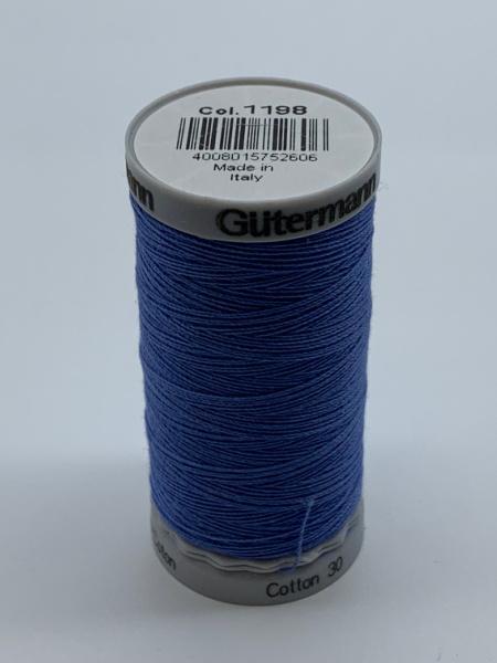 Gutermann Quilting Cotton Thread 1198 Blue