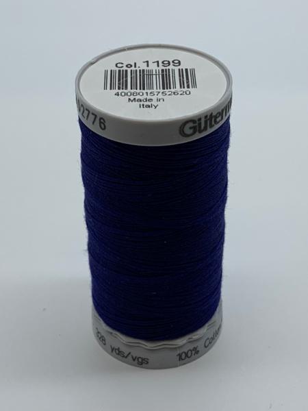 Gutermann Quilting Cotton Thread 1199 Dark Blue