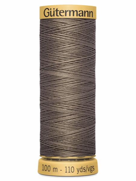 Gutermann Cotton Thread 1225 Brown