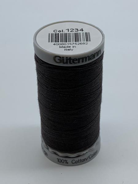 Gutermann Quilting Cotton Thread 1234 Charcoal