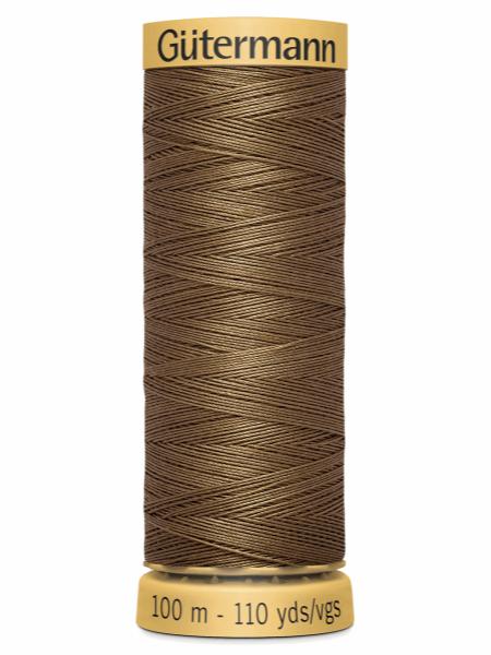 Gutermann Cotton Thread 1335 Brown