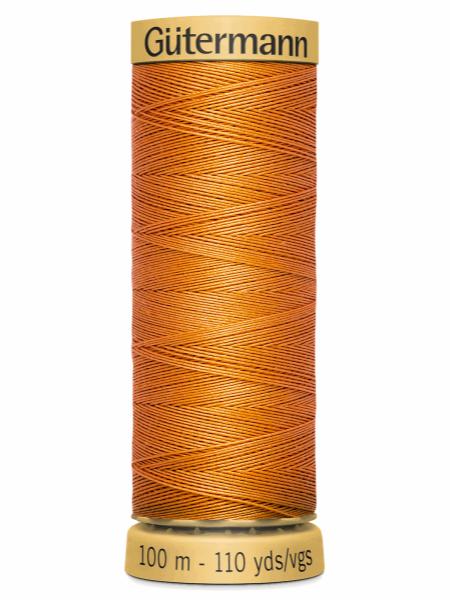 Gutermann Cotton Thread 1576 orange