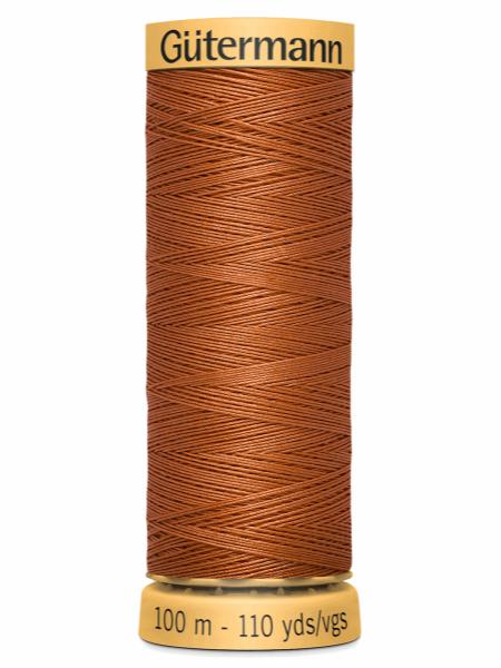 Gutermann Cotton Thread 1955 Brown