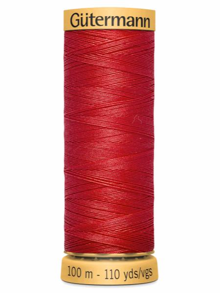 Gutermann Cotton Thread 1974 Red