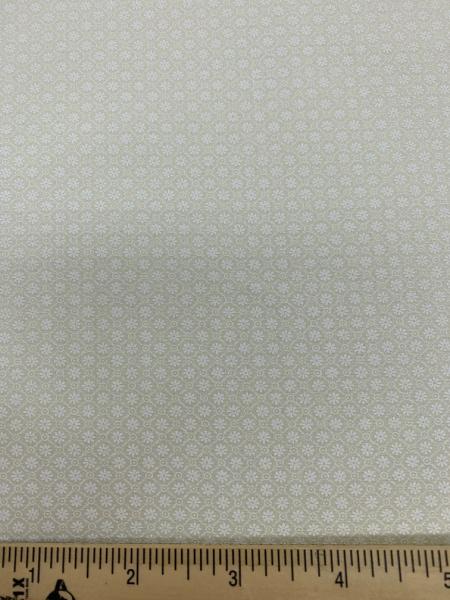 White on cream quiltin fabric