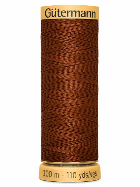 Gutermann Cotton Thread 2143 Rust
