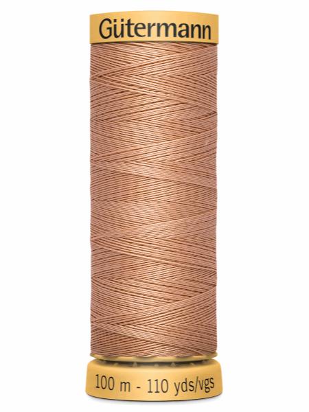 Gutermann Cotton Thread 2336 Dark Peach