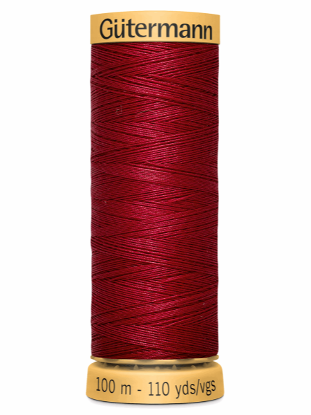 Gutermann Cotton Thread 2453 Red