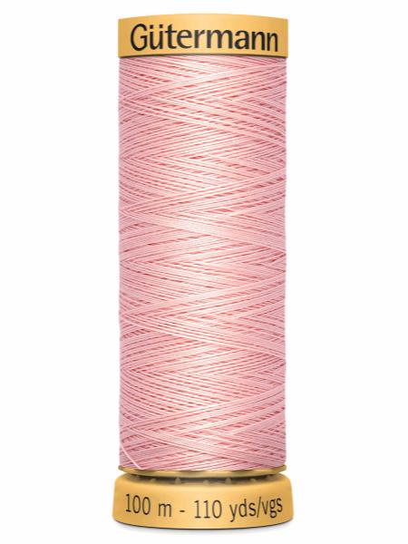 Gutermann Cotton Thread 2538 Pale Pink