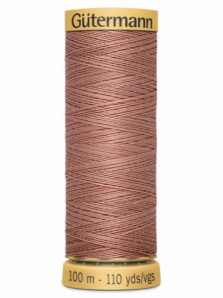 Gutermann Cotton Thread 2626 Old Pink