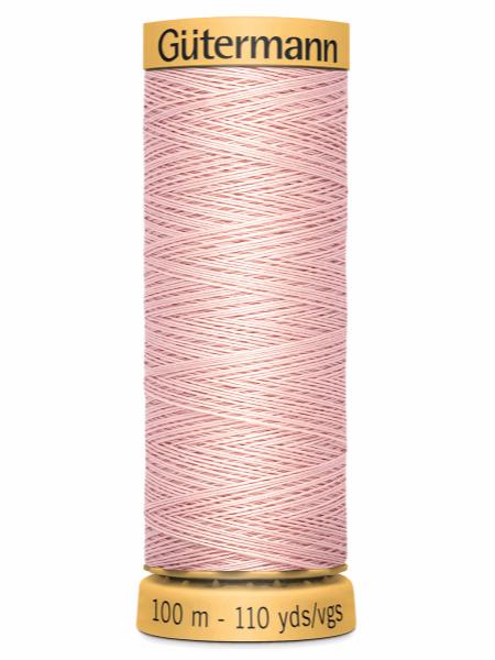 Gutermann Cotton Thread 2628 Pale Pink