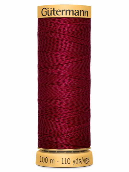 Gutermann Cotton Thread 2653 Pinky Maroon
