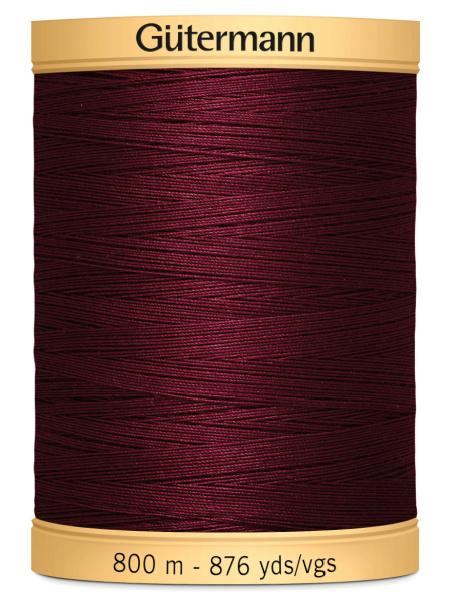 Gutermann Cotton Thread 2833 Maroon