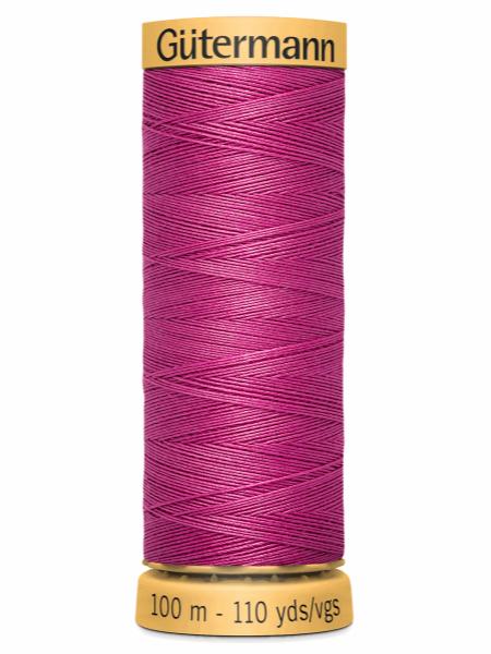 Gutermann Cotton Thread 2955 Pink
