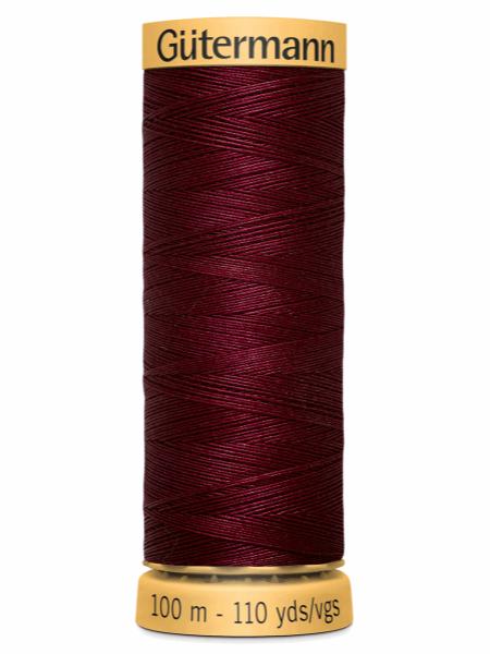 Gutermann Cotton Thread 3022 Maroon