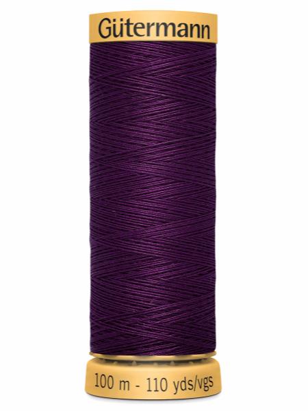Gutermann Cotton Thread 3832 Royal Purple