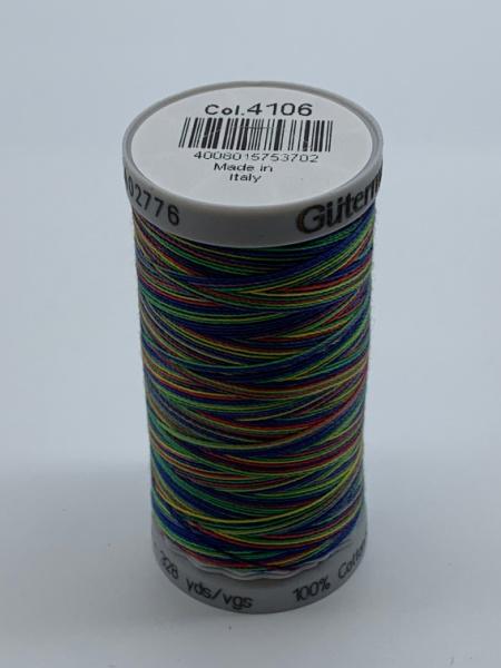 Gutermann Quilting Cotton Thread Variegated 4106 Multi