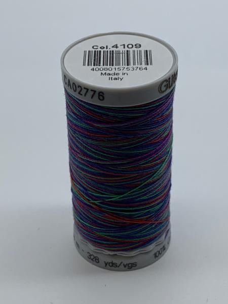Gutermann Quilting Cotton Thread Variegated 4109 Multi