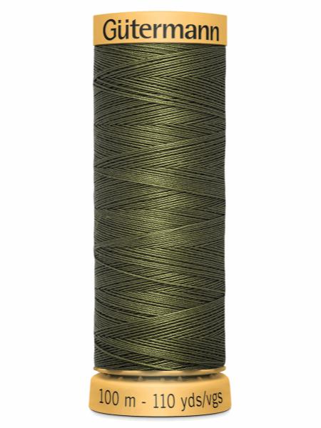 Gutermann Cotton Thread 424 Green